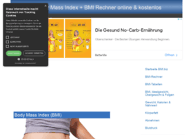 at wi body mass index bmi rechner online kostenlos. Black Bedroom Furniture Sets. Home Design Ideas