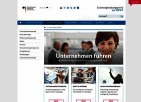 Bmwi-unternehmensportal.de thumbnail