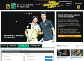 Bnpparibasmasters.tennistv.com thumbnail
