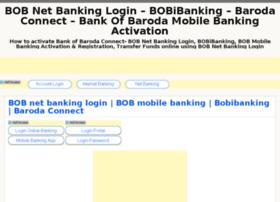 Bobnetbanking.co.in thumbnail