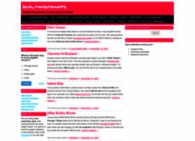Bodymeasurements.org thumbnail