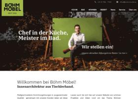Boehmmoebel.at thumbnail