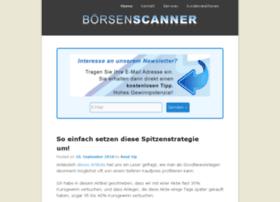 Boersenscanner.de thumbnail