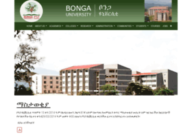 Bongau.edu.et thumbnail