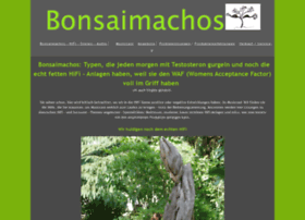 Bonsaimachos.de thumbnail