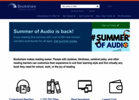 Bookshare.org thumbnail
