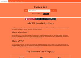 Boostweb.cc thumbnail