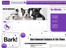 Borninnocent.co.uk thumbnail
