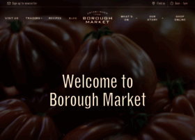 Boroughmarket.org.uk thumbnail