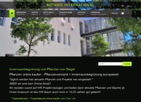 Botanic-international.eu thumbnail