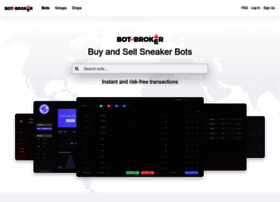 Botbroker Io At Wi Botbroker Instantly Buy And Sell Top Rated Sneaker Bots Secure Instantly purchase top rated software with complete peace of mind. website informer informer technologies inc