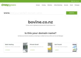 Bovine.co.nz thumbnail