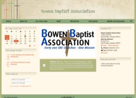 Bowenbaptistassociation.org thumbnail