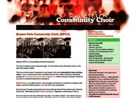 Bowesparkcommunitychoir.org thumbnail