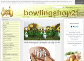 Bowlingshop21.de thumbnail