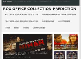 Boxofficecollectionprediction.com thumbnail