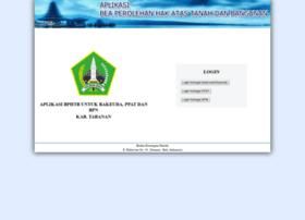 Bphtb-online.tabanankab.go.id thumbnail