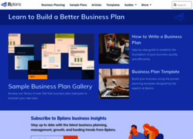 Top 5 sample business plan websites flashek Choice Image