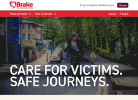 Brake.org.uk thumbnail