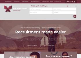 Bramptonrecruitment.co.uk thumbnail