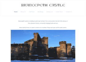Brancepethcastle.org.uk thumbnail