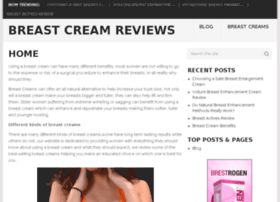 Breastcreamreviews.com thumbnail