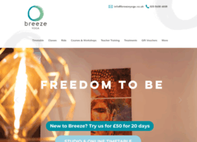 Breezeyoga.co.uk thumbnail