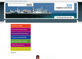Brightonandhovepct.nhs.uk thumbnail