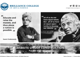 Brilliancecollege.in thumbnail
