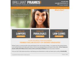 Brilliantframes.ca thumbnail