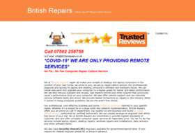 Britishrepairs.co.uk thumbnail