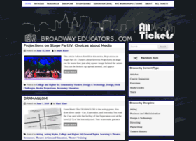 Broadwayeducators.com thumbnail