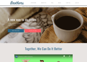 Brotherscoffee.co thumbnail