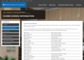 Brown Mackie Student Portal At Website Informer