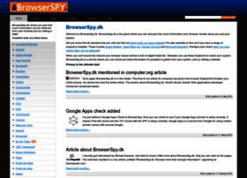 Browserspy.dk thumbnail