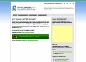 Browserupgrade.info thumbnail