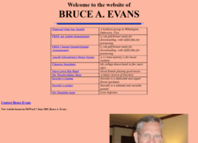 Bruceevans.net thumbnail