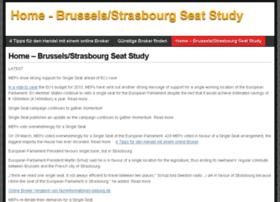 Brusselsstrasbourgstudy.eu thumbnail