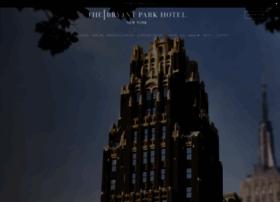 Bryantparkhotel.com thumbnail