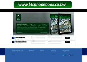 Btcphonebook.co.bw thumbnail