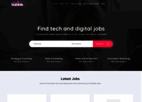 Bubble-jobs.co.uk thumbnail