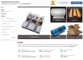 Bubblepacage.in thumbnail