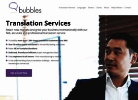 Bubblestranslation.com thumbnail