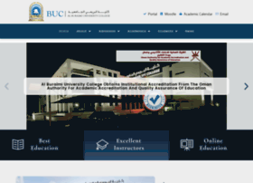Buc.edu.om thumbnail