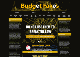 Budgetfakes.com thumbnail