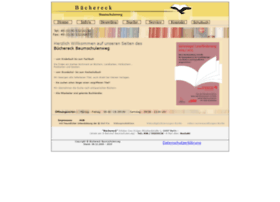 Buechereck-baume.de thumbnail