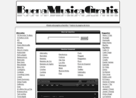 Buenamusicagratis.com thumbnail