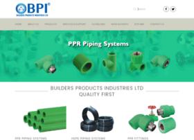 Buildersproductsindustries.com thumbnail