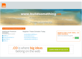 Buildsomething.co thumbnail