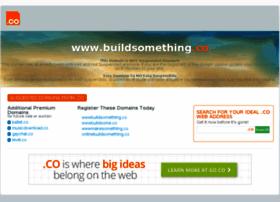 Buildsomething.co thumbnail